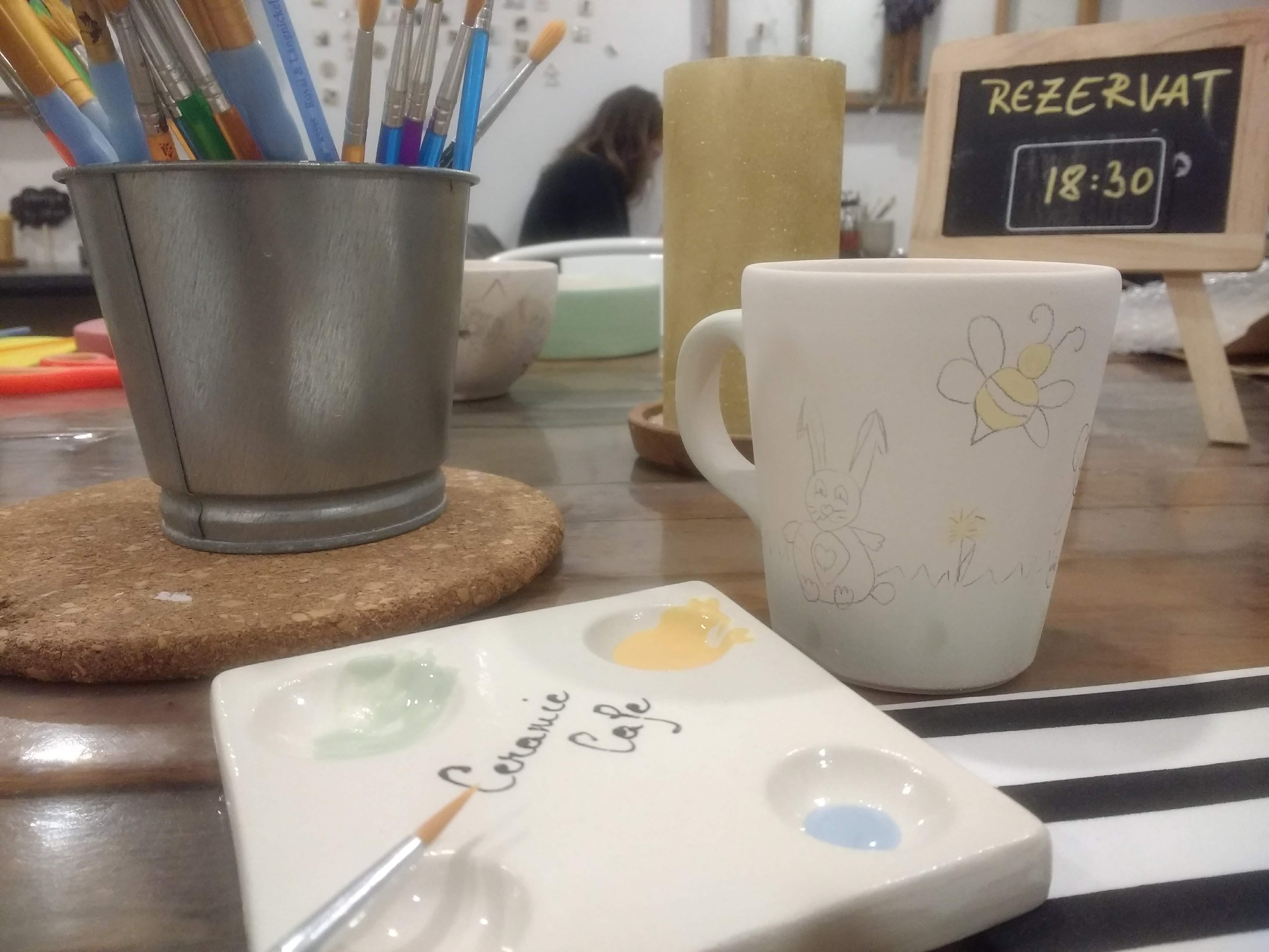 Ceramic Cafe – un altfel de relaxare si socializare